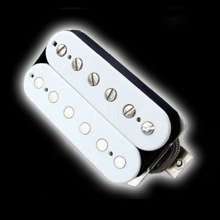 Humbucker Bare Knuckle Geoff Whitehorn Crawler 6 - biały, bridge