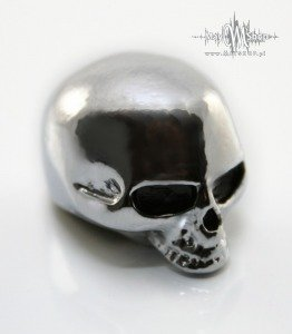 Gałka Q-parts Custom Skull I