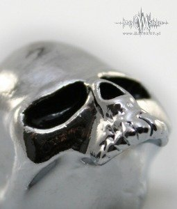 Gałka Q-parts Custom Skull II