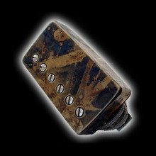 Humbucker Bare Knuckle Abraxas 6 - Puszka Camo, neck