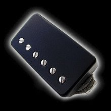 Humbucker Bare Knuckle Emerald 6 - Czarna puszka, neck