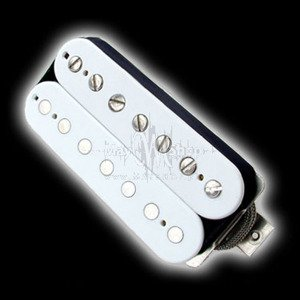Humbucker Bare Knuckle Emerald 7 - biały, neck
