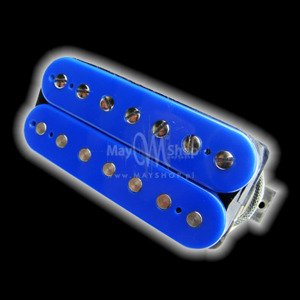 Humbucker Bare Knuckle Emerald 7 - niebieski, neck