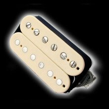 Humbucker Bare Knuckle Geoff Whitehorn Crawler 6 - kremowy, bridge