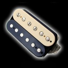 Humbucker Bare Knuckle Geoff Whitehorn Crawler 6 - zebra, bridge