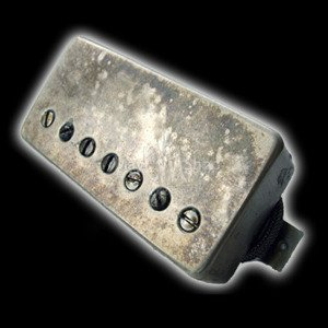 Humbucker Bare Knuckle Geoff Whitehorn Crawler 7 - Puszka Aged Nickel, neck