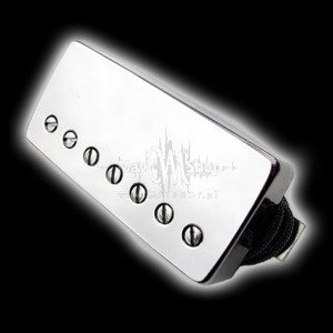 Humbucker Bare Knuckle Miracle Man 7 - Puszka Nickel, bridge