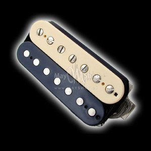 Humbucker Bare Knuckle Miracle Man 7 - zebra, bridge