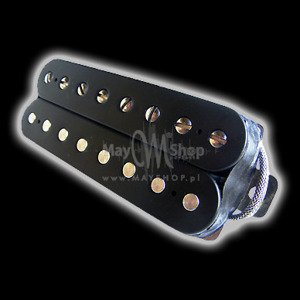 Humbucker Bare Knuckle Miracle Man 8 - czarny, bridge
