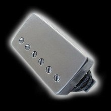 Humbucker Bare Knuckle Nailbomb 6 - Puszka Raw Nickel, neck