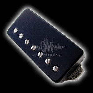 Humbucker Bare Knuckle Stormy Monday 7 - Czarna puszka, bridge