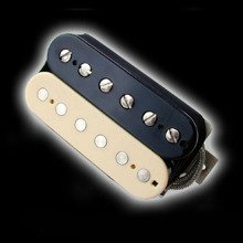 Humbucker Bare Knuckle Warpig 6 - reverse zebra, bridge