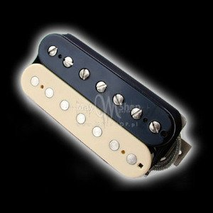 Humbucker Bare Knuckle Warpig 7 - reverse zebra, bridge