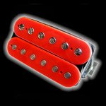 Humbucker Bare Knuckle Emerald 6 - czerwony, bridge