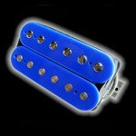 Humbucker Bare Knuckle Juggernaut 6 - niebieski, neck