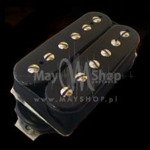Humbucker Bare Knuckle Miracle Man 6 - czarny, bridge