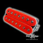 Humbucker Bare Knuckle Painkiller 7 - czerwony, bridge