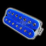 Humbucker Bare Knuckle Stormy Monday 7 - niebieski, bridge